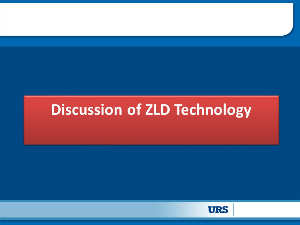 Discussion of ZLD Technology