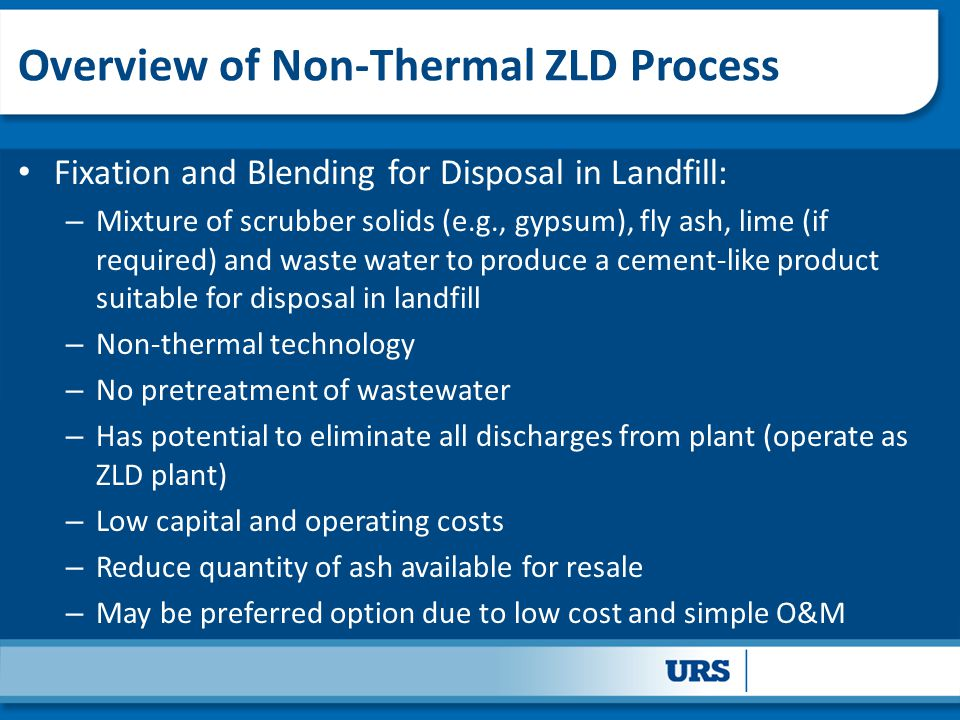 Overview of Non-Thermal ZLD Process
