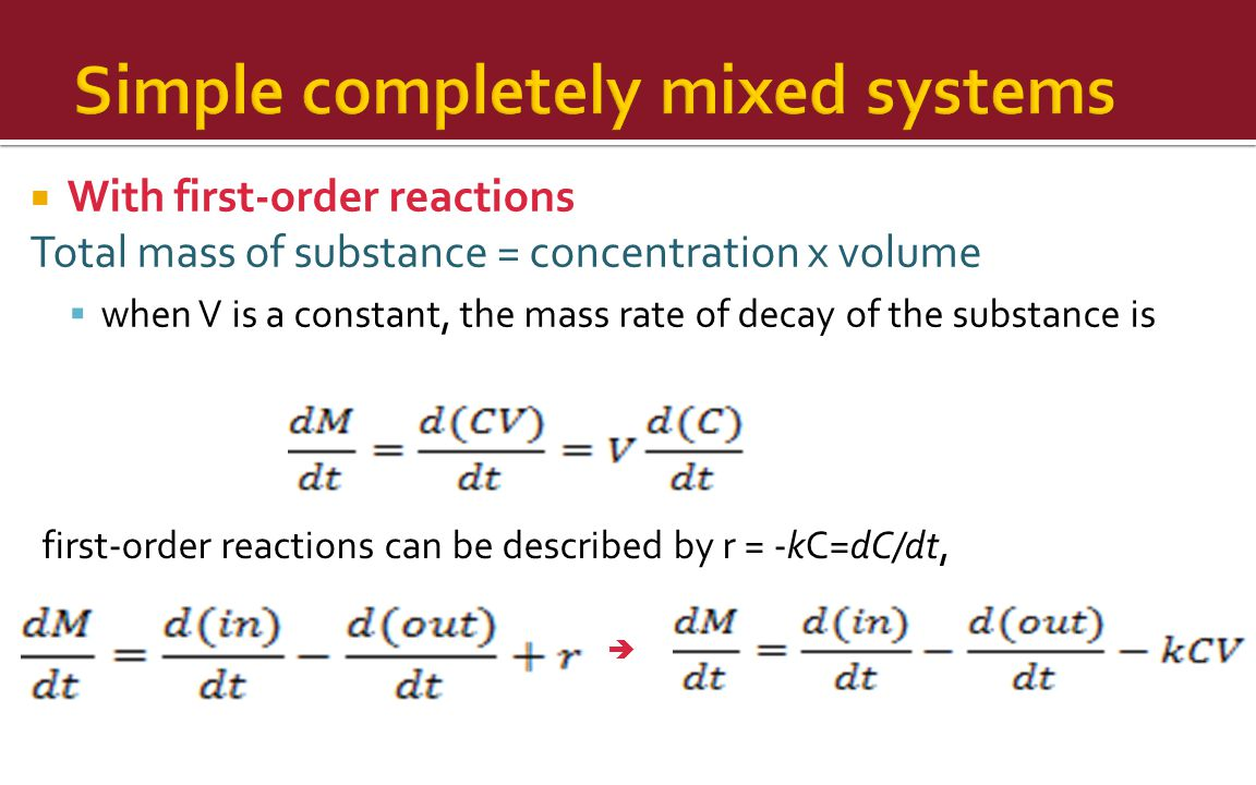 Simple completely mixed systems