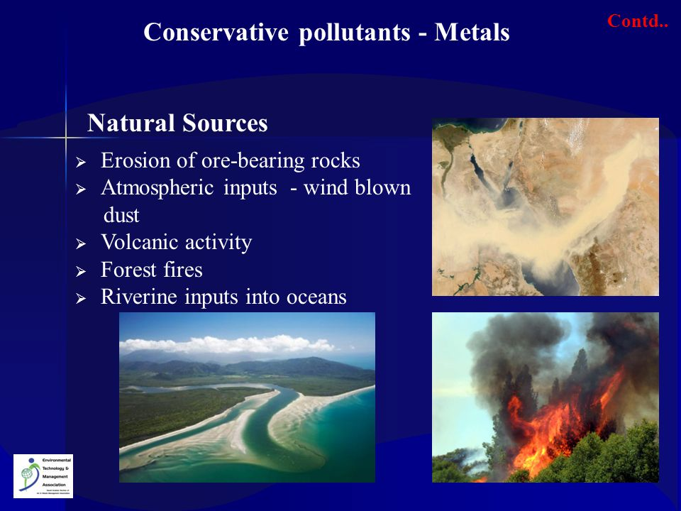 Conservative pollutants - Metals