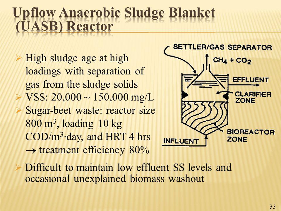 Upflow Anaerobic Sludge Blanket (UASB) Reactor