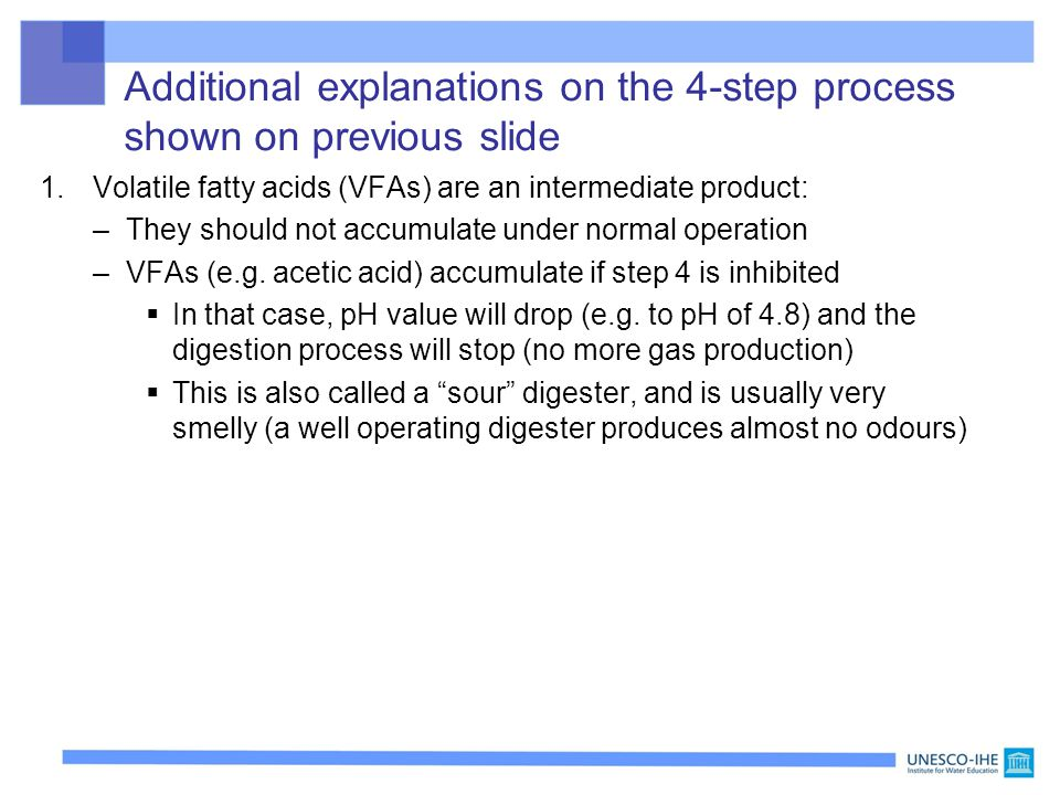 Additional explanations on the 4-step process shown on previous slide