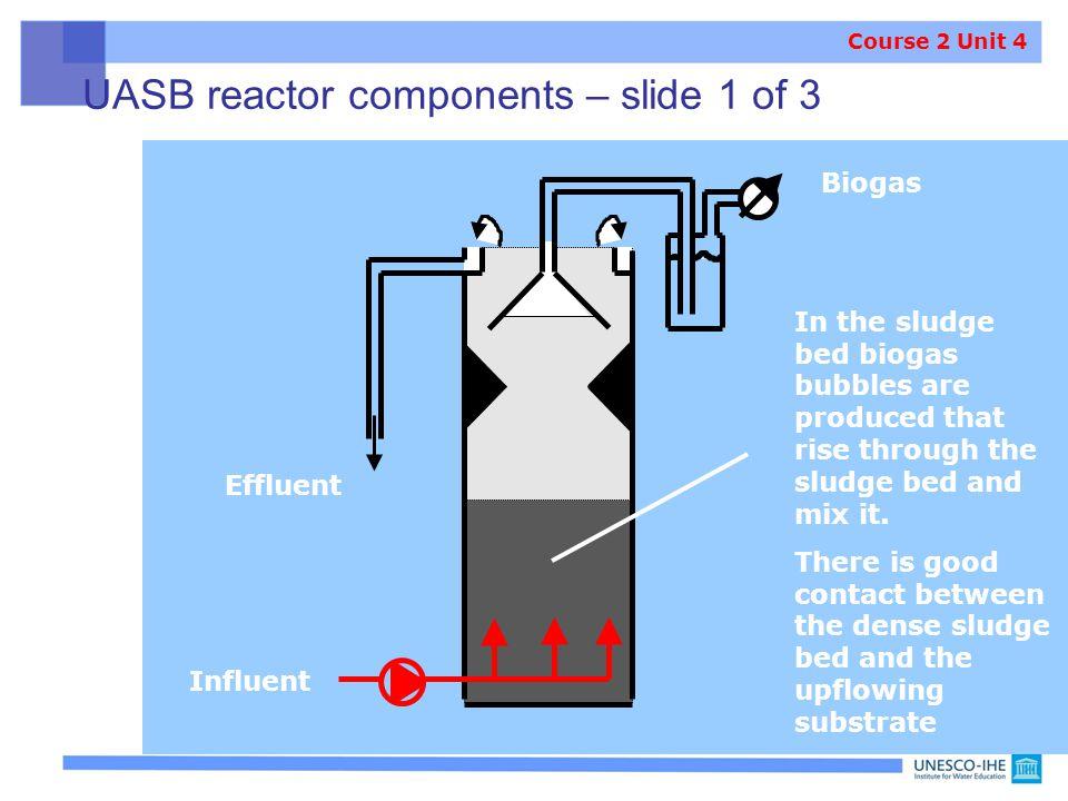 UASB reactor components – slide 1 of 3