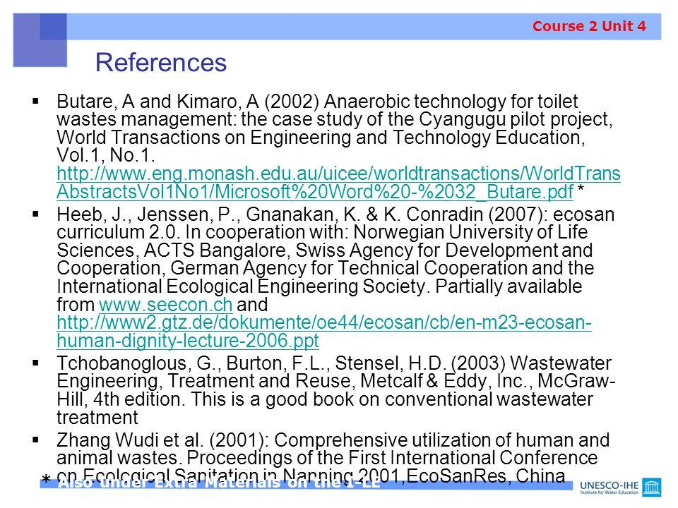 Course 2 Unit 4 References.