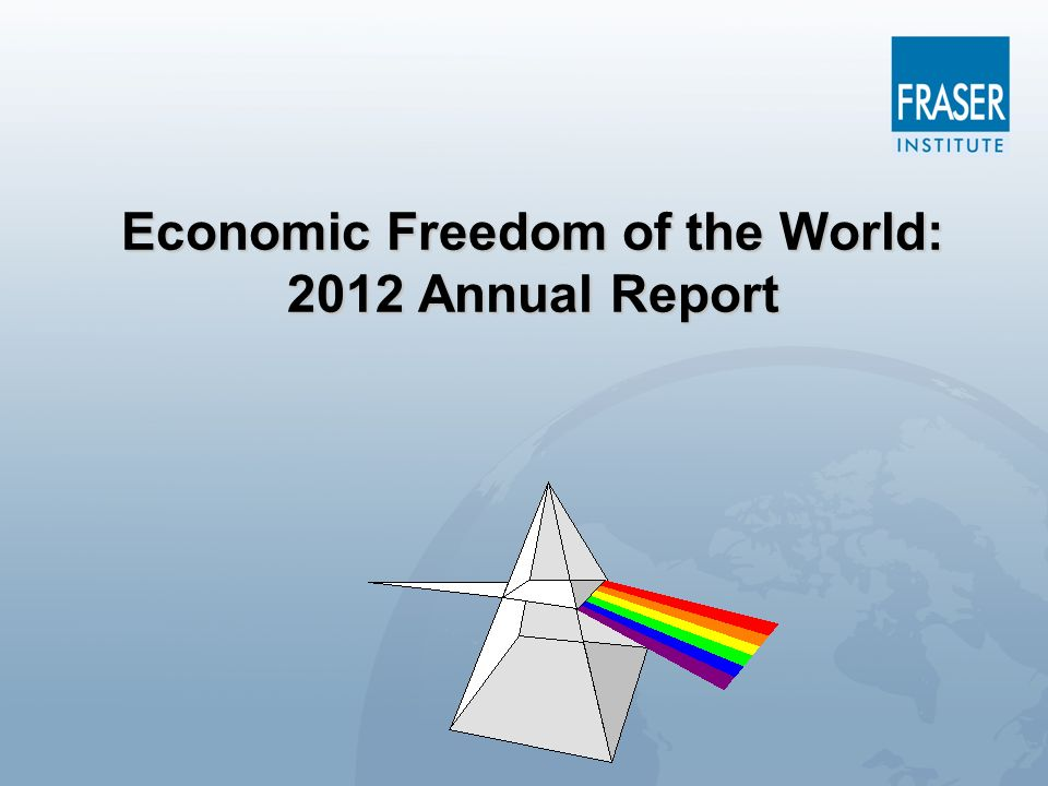 Economic Freedom of the World: 2012 Annual Report