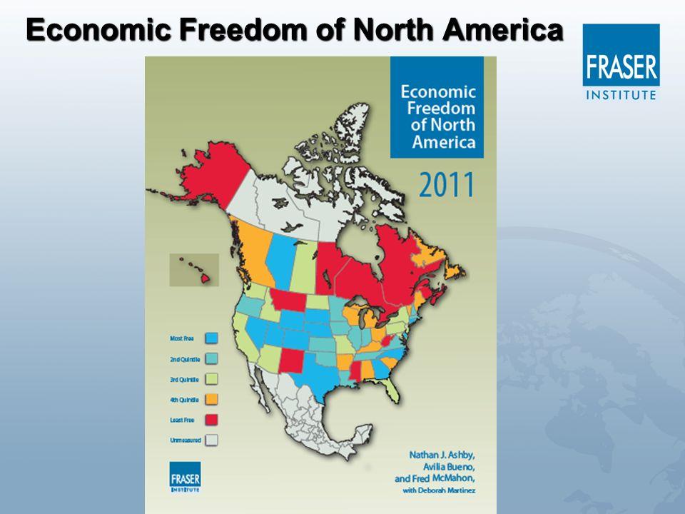 Economic Freedom of North America
