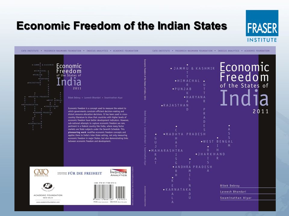 Economic Freedom of the Indian States