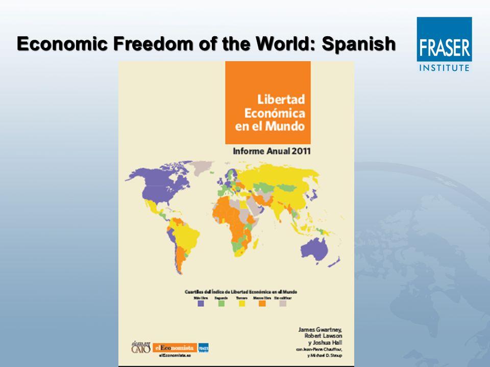 Economic Freedom of the World: Spanish