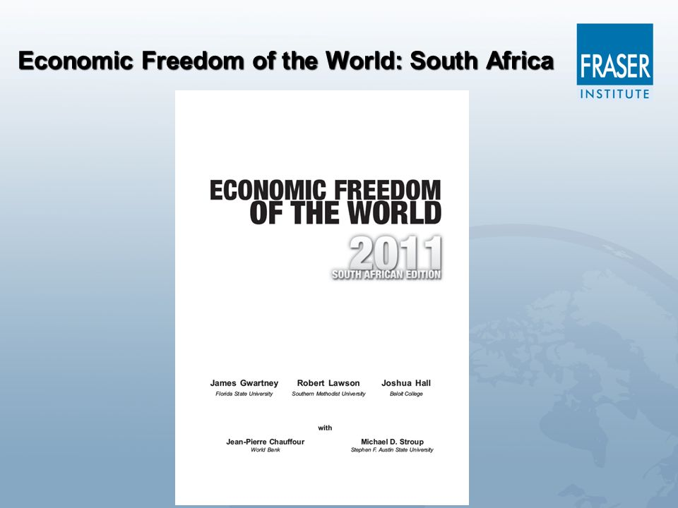 Economic Freedom of the World: South Africa