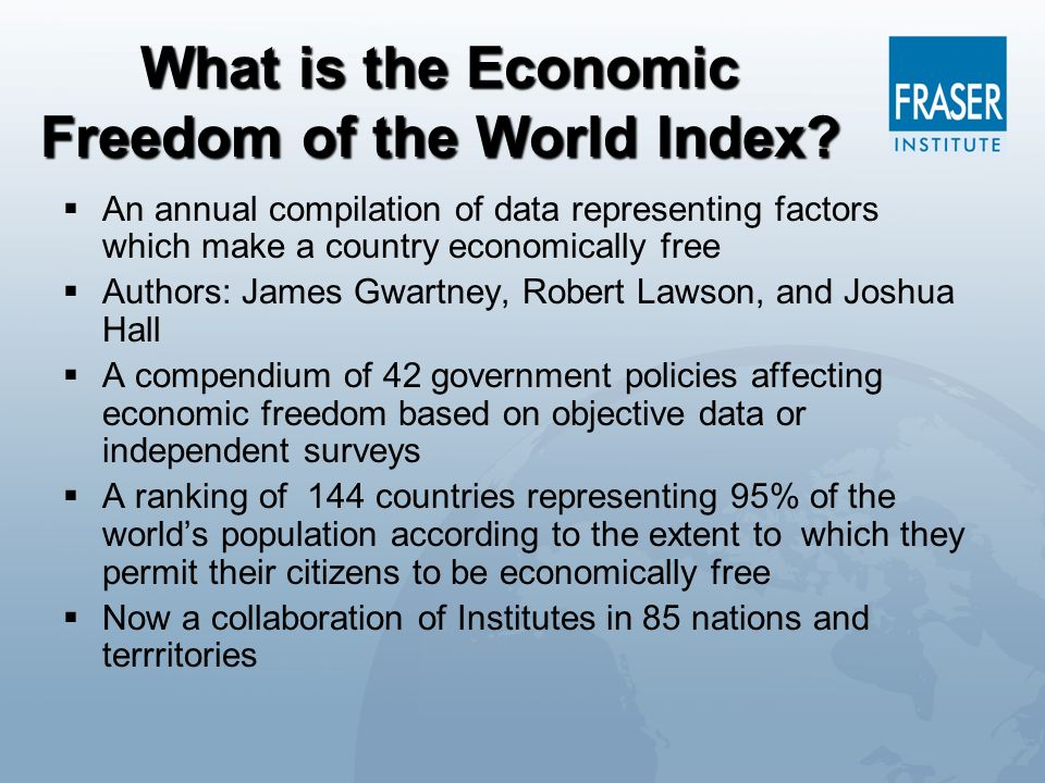 What is the Economic Freedom of the World Index