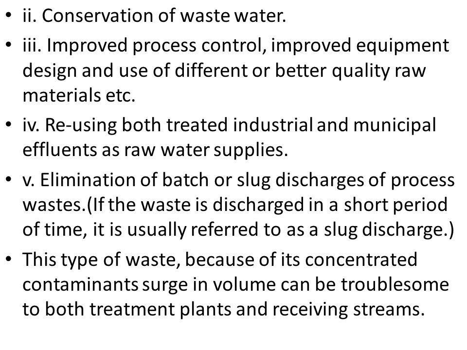 Environmental biotechnology treatment of wastewater ppt download conservation of waste water sciox Gallery