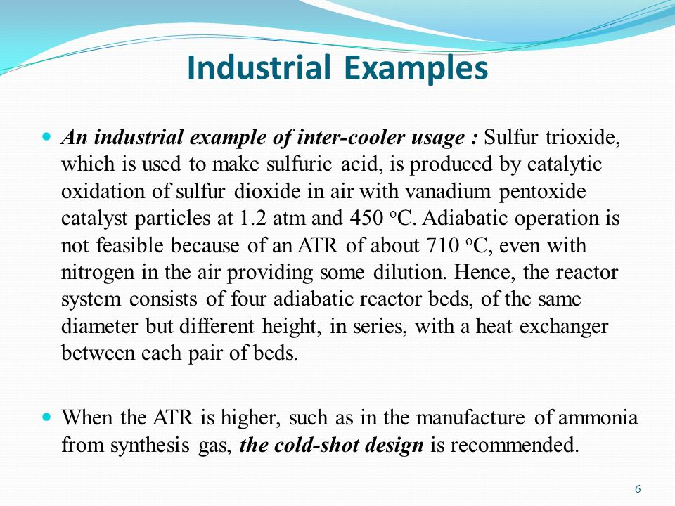 Industrial Examples