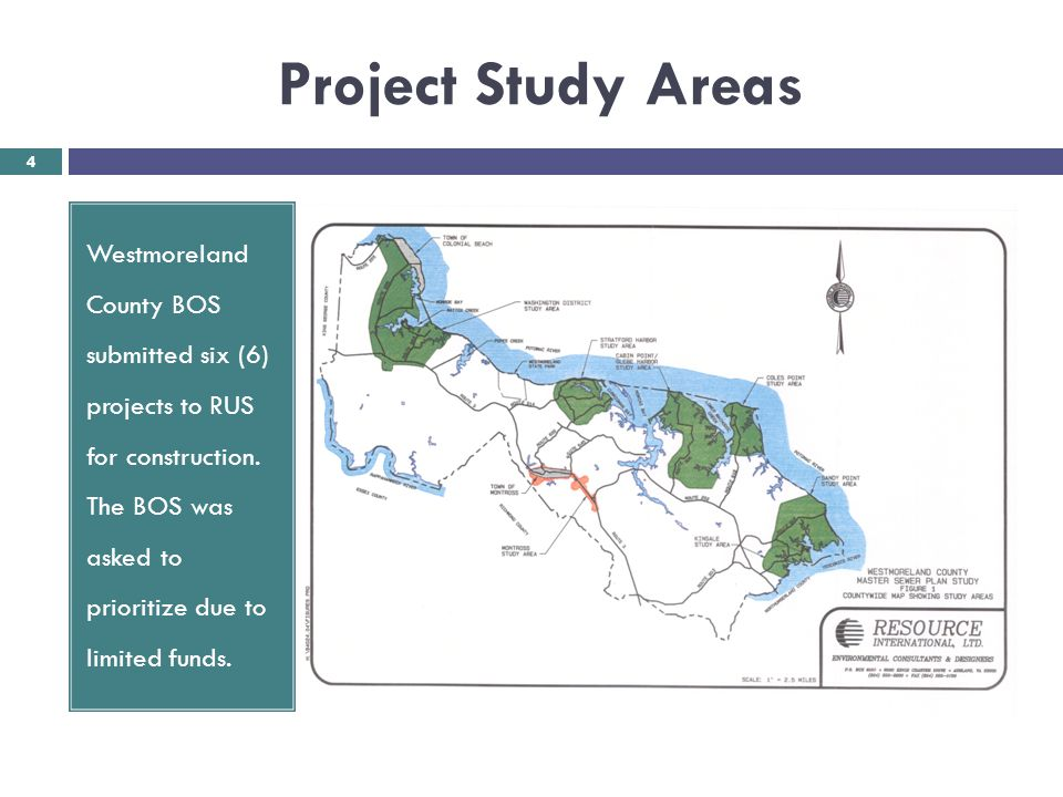 Project Study Areas