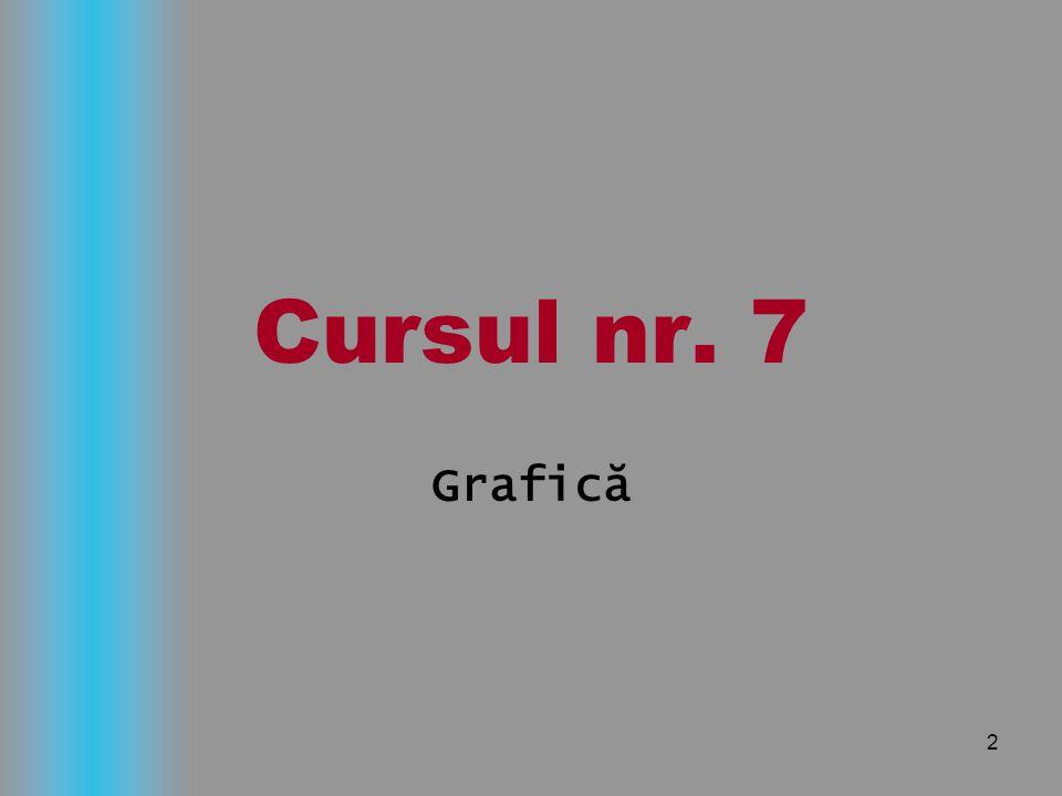 Cursul nr. 7 Grafică