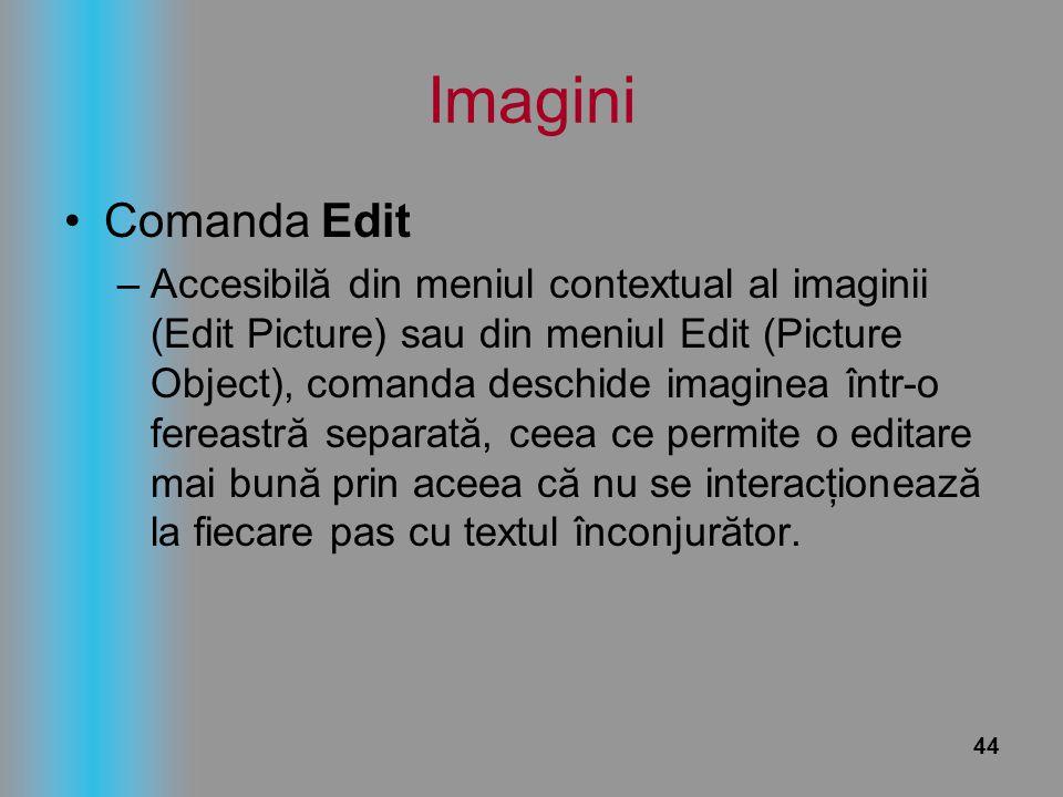 Imagini Comanda Edit.