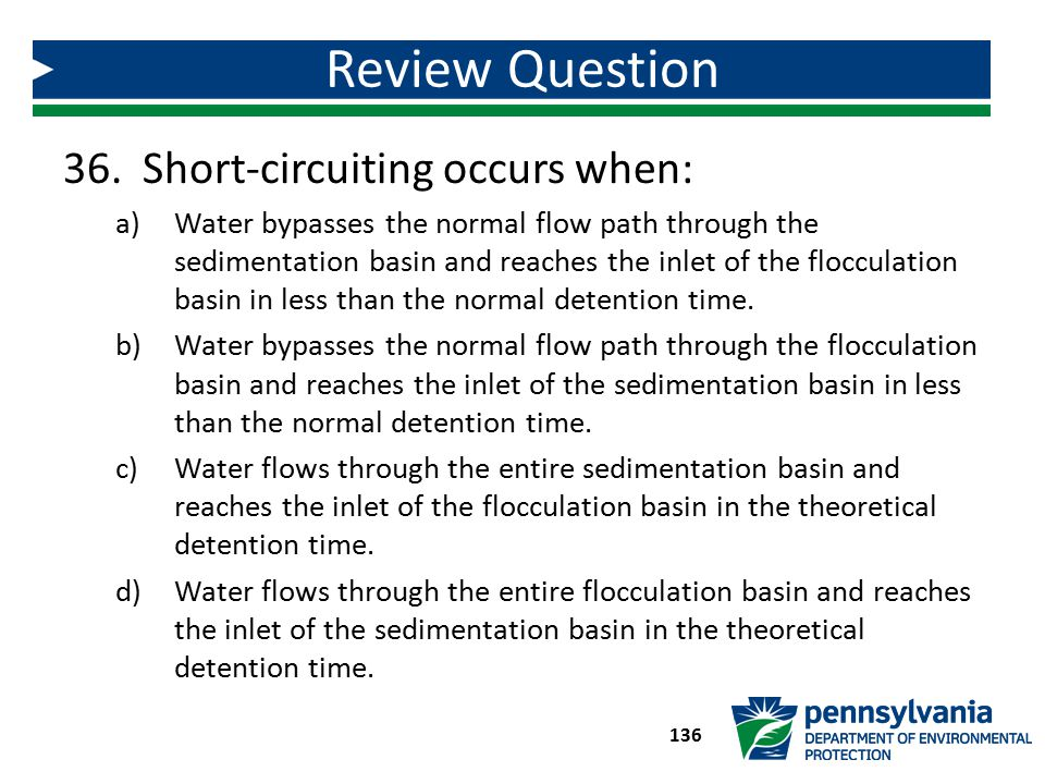 Review Question Short-circuiting occurs when: