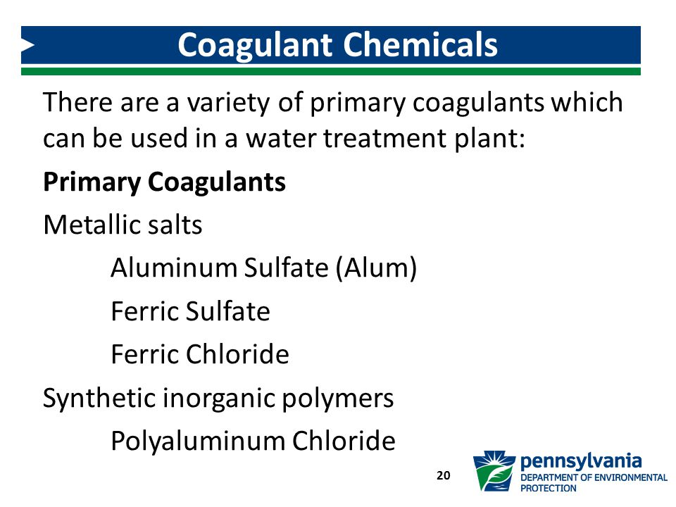 Coagulant Chemicals