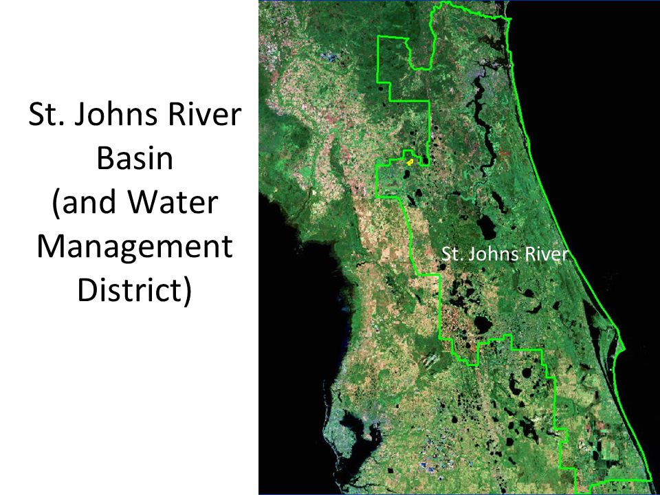 St. Johns River Basin (and Water Management District)