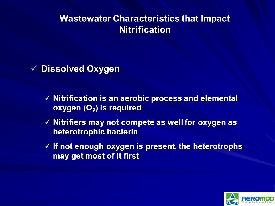 Wastewater Characteristics that Impact Nitrification