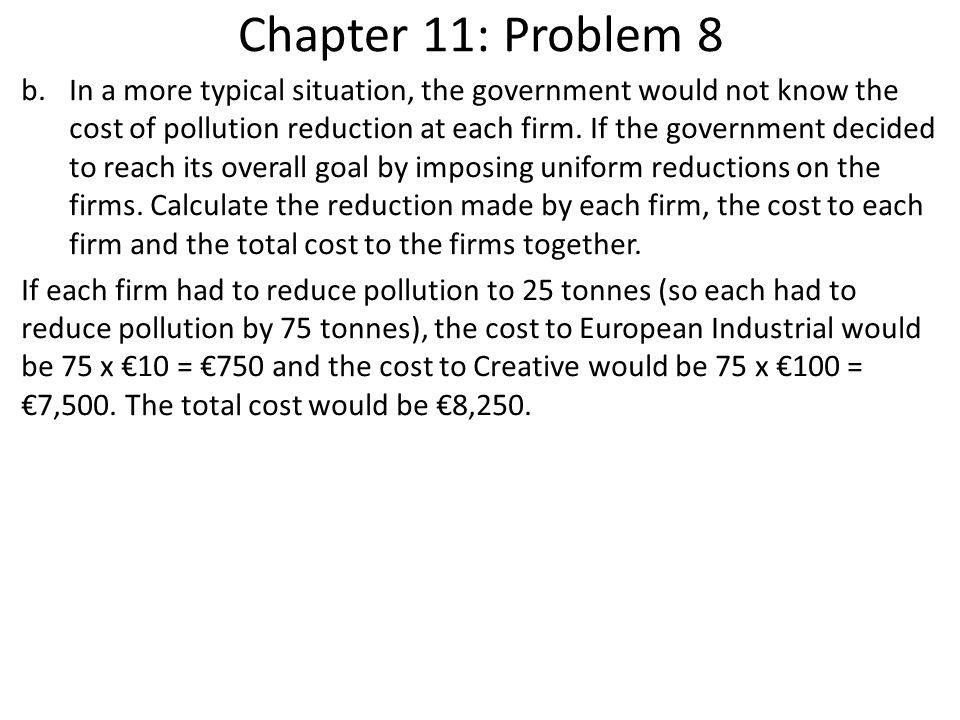 Chapter 11: Problem 8