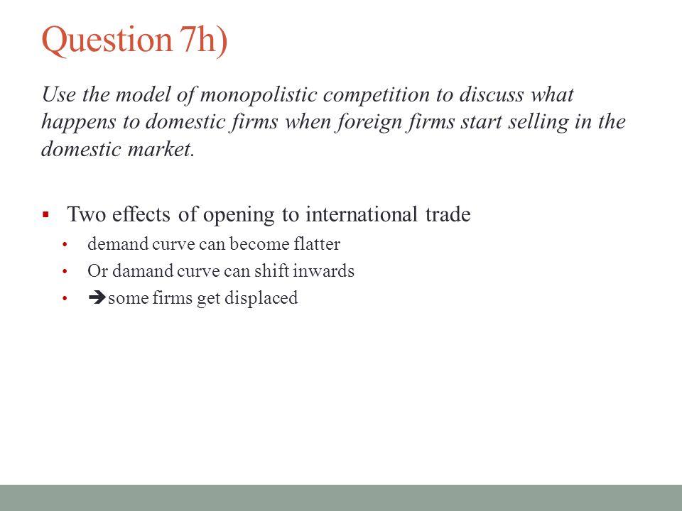 Question 7h)
