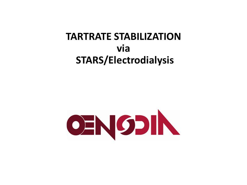 TARTRATE STABILIZATION via STARS/Electrodialysis
