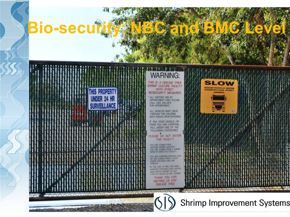Bio-security: NBC and BMC Level