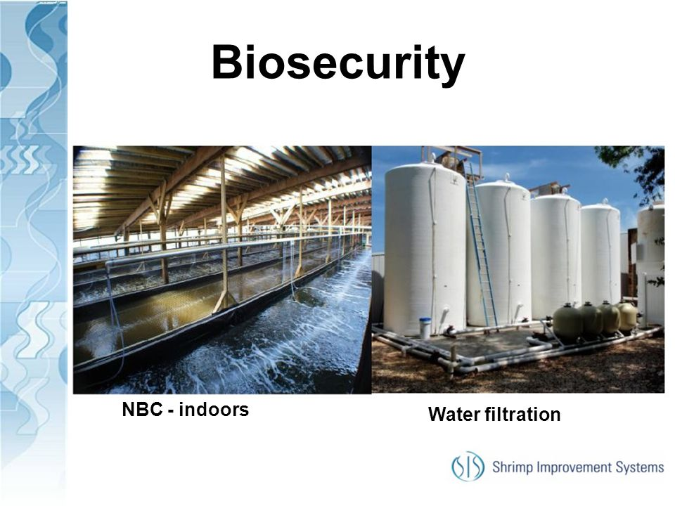 Biosecurity NBC - indoors Water filtration