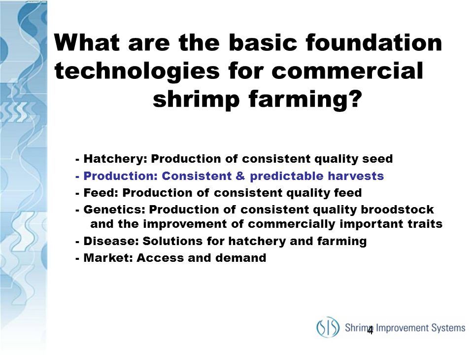 What are the basic foundation technologies for commercial