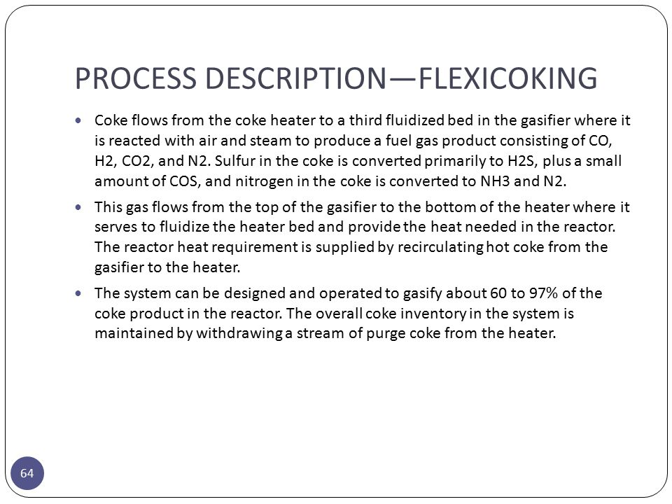 Mechanism process description