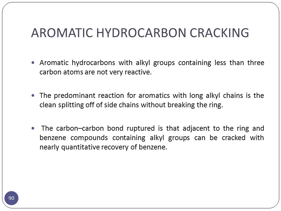 AROMATIC HYDROCARBON CRACKING