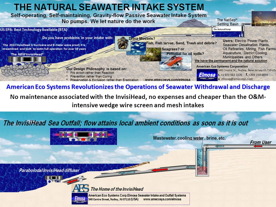 American Eco Systems Revolutionizes the Operations of Seawater Withdrawal and Discharge