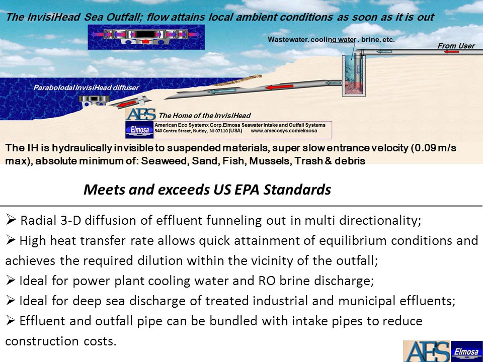 Meets and exceeds US EPA Standards