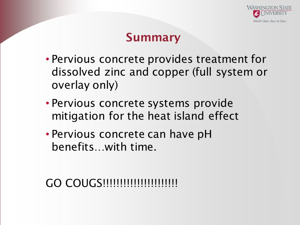 Pervious Concrete Unique Benefits Ppt Download