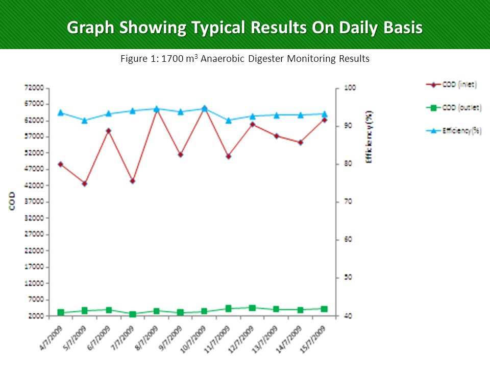 Graph Showing Typical Results On Daily Basis