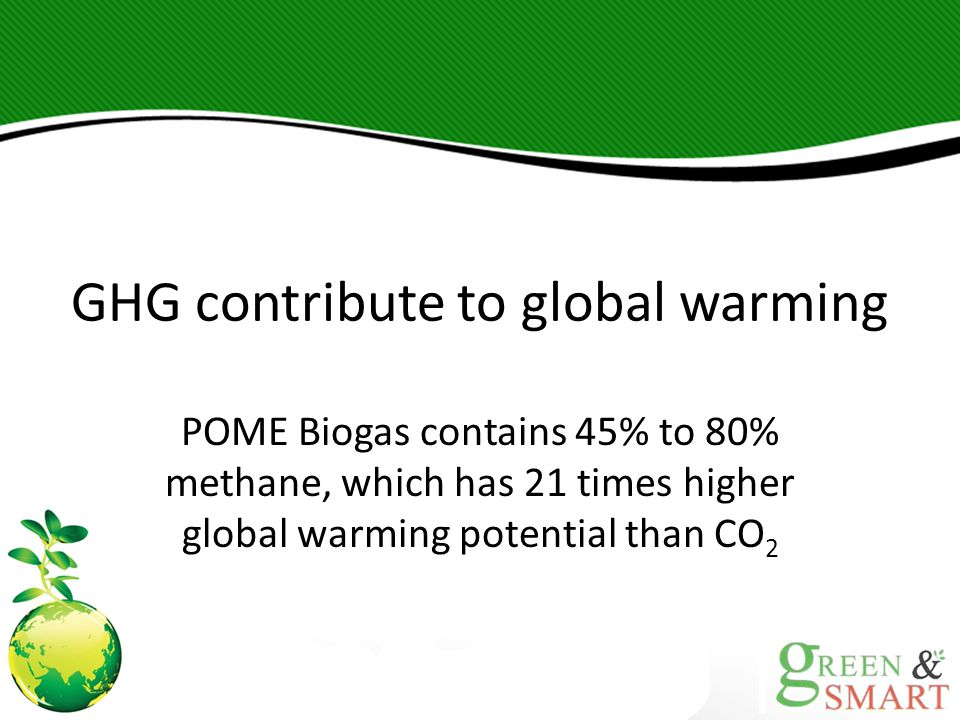 GHG contribute to global warming