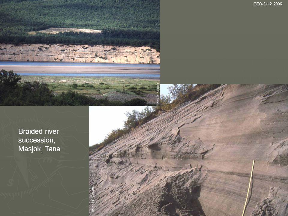 Braided river succession, Masjok, Tana