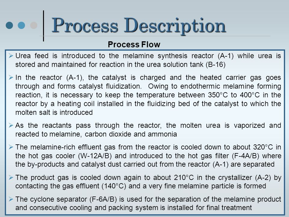 Process Description Process Flow