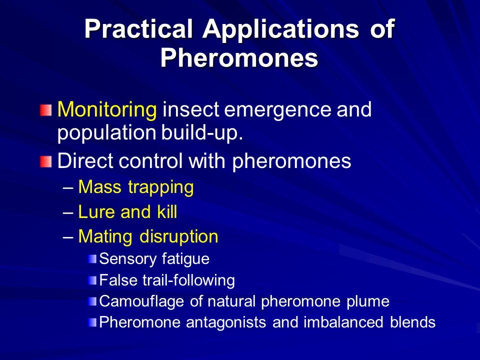 Practical Applications of Pheromones