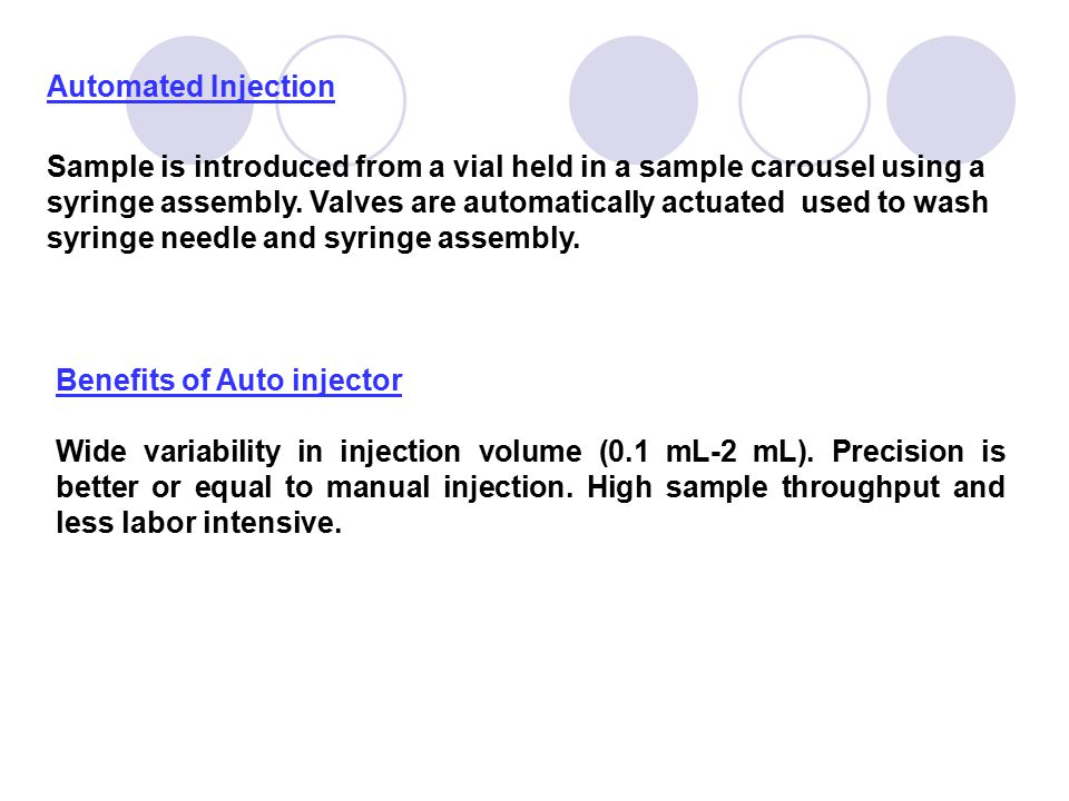 Automated Injection
