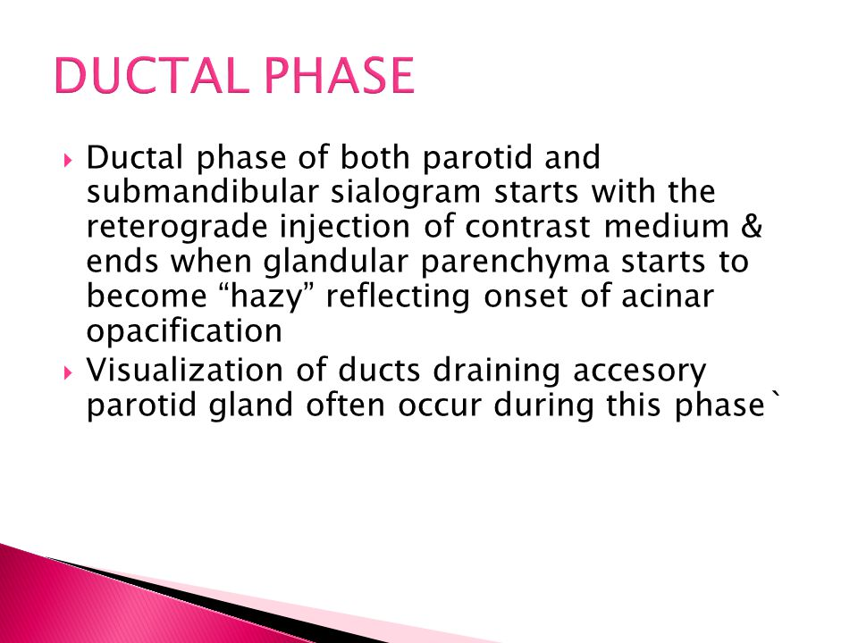DUCTAL PHASE