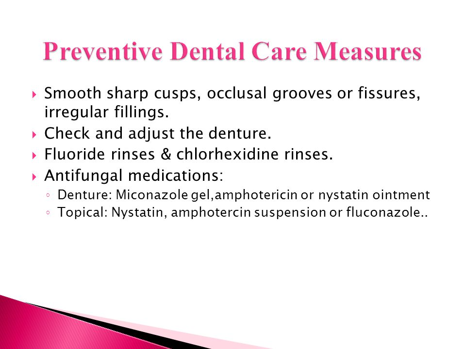 Preventive Dental Care Measures