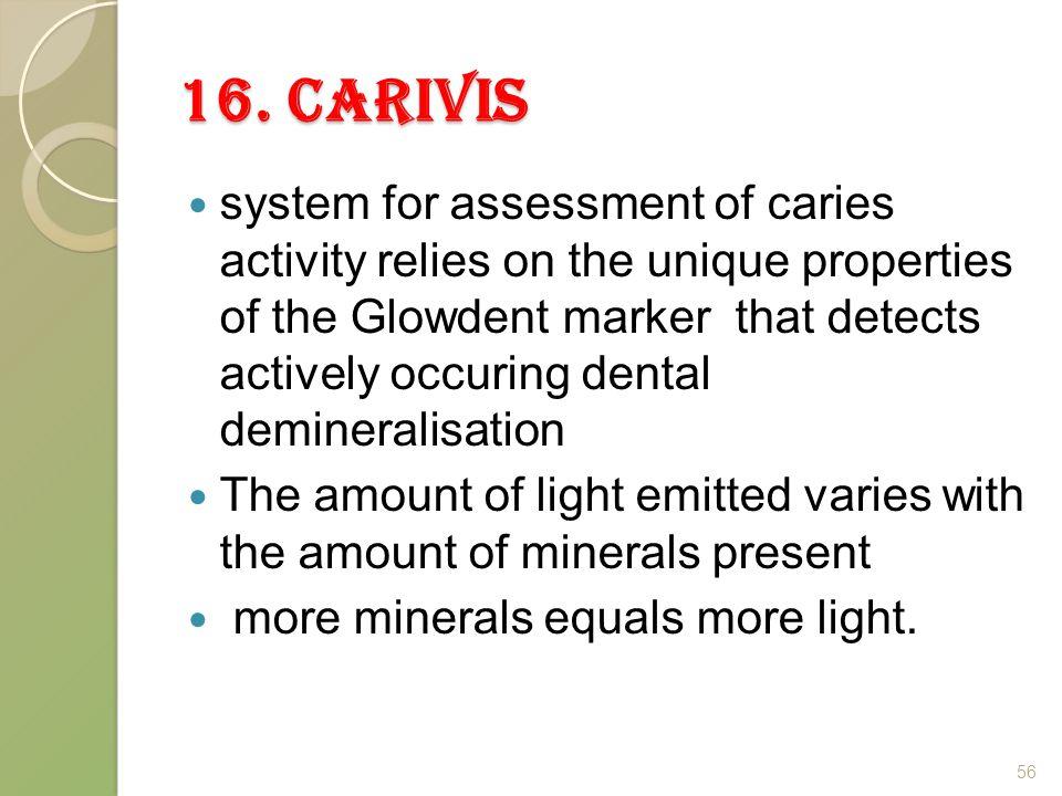 16. Carivis