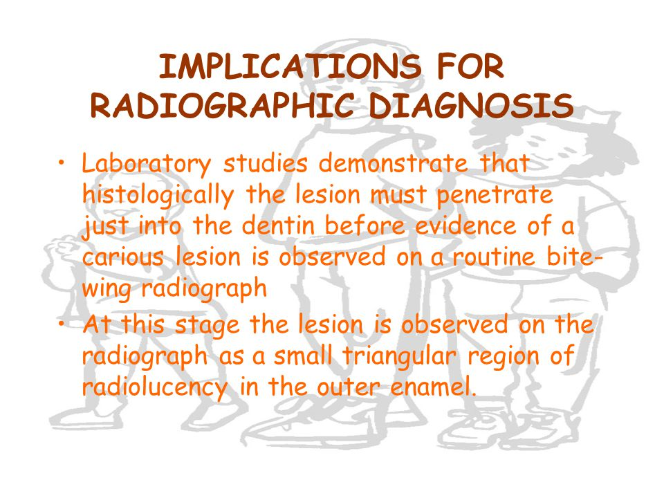 IMPLICATIONS FOR RADIOGRAPHIC DIAGNOSIS