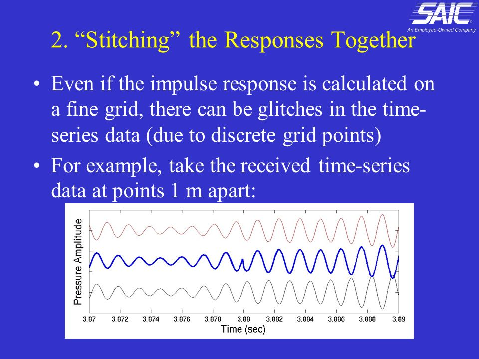 2. Stitching the Responses Together
