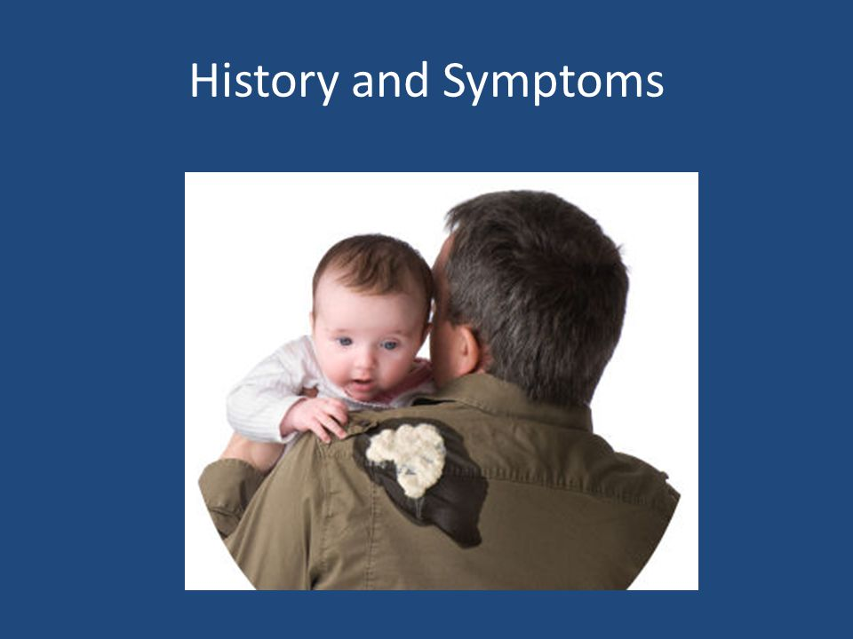 History and Symptoms