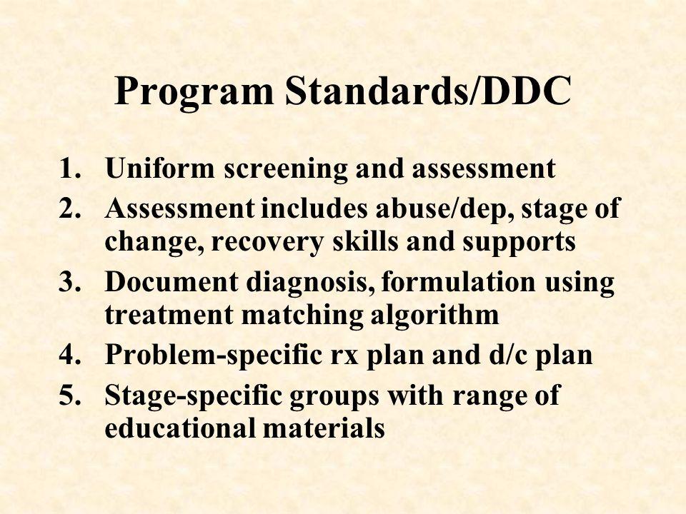 Program Standards/DDC