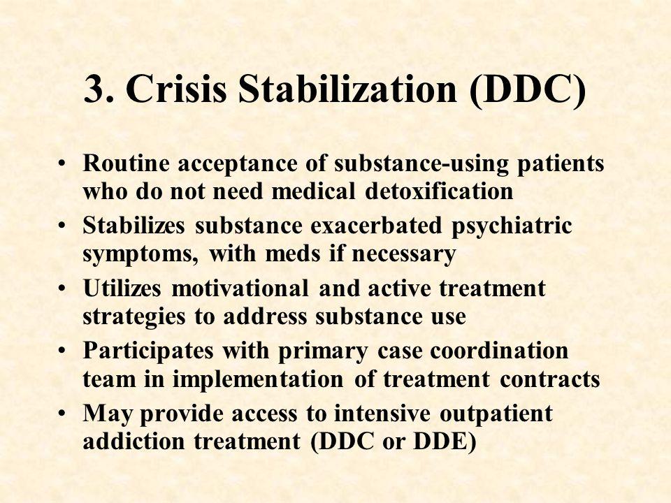 3. Crisis Stabilization (DDC)