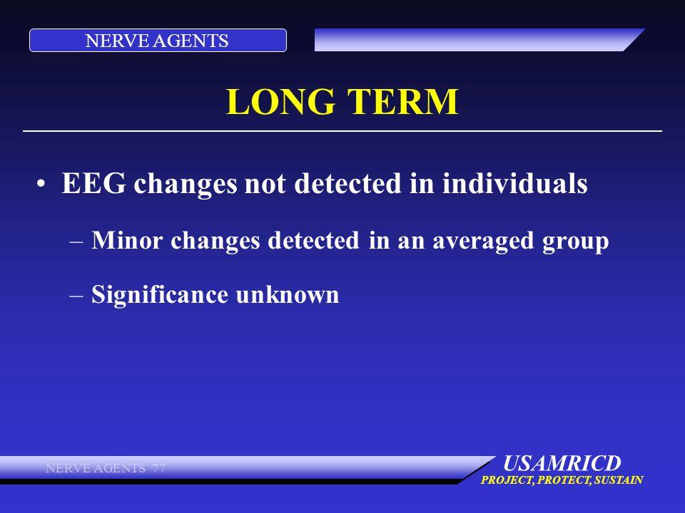 LONG TERM EEG changes not detected in individuals