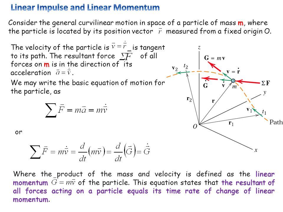 Linear Impulse and Linear Momentum